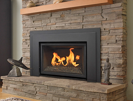 These are inserts that fit inside a pre existing fireplace and are made of pellet, coal, or wood.